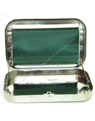 Rouleuse feuille slim boîte métal