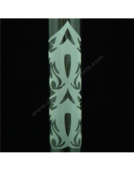 Bang verre Tribal 60cm