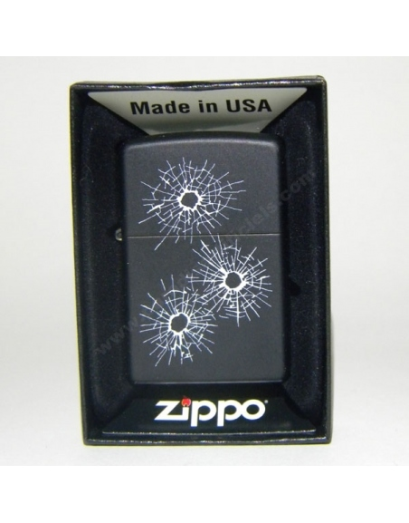 ZIppo Bullet Holes