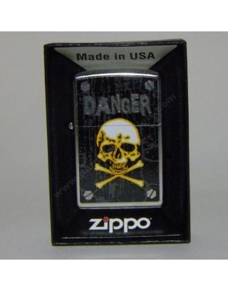 ZIppo Danger Skull