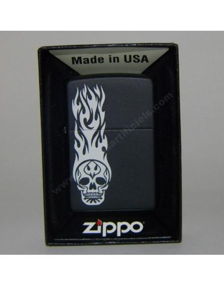 ZIppo Skull Tatoo