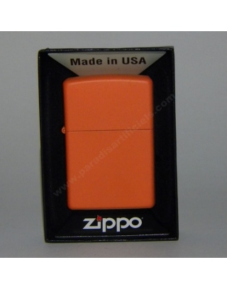 ZIppo Orange Matte