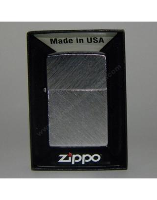 ZIppo Chrome Herringbone Sweep