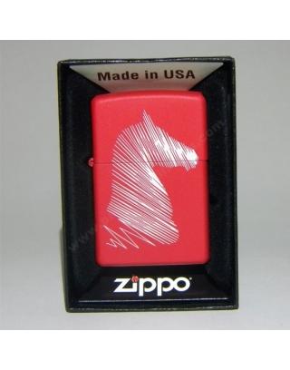 Zippo Line Drawn Horse He