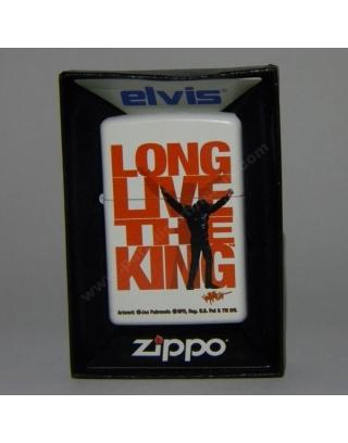 Zippo Elvis Long Live King