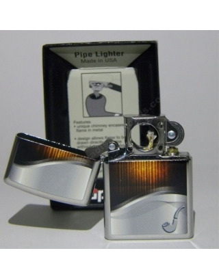 Zippo Pipe Lighter Amber