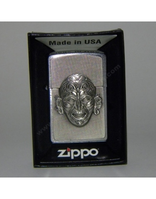 Zippo Maori Face