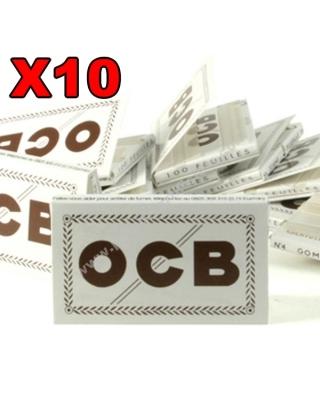 Feuille courte OCB blanc N°4 par 10