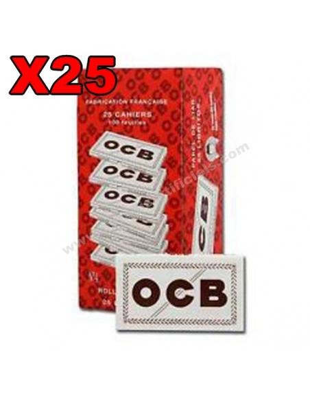 Feuille courte OCB blanc N°4 par boite