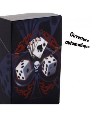 Boîte cigarettes poker