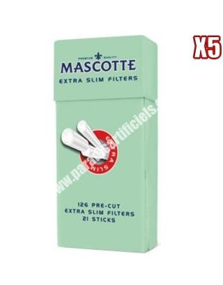 Stick filtre mousse Mascotte par 5