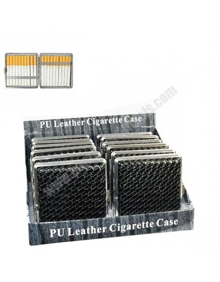Boîte cigarettes plat noir