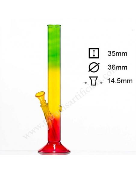 Bang verre Rasta 35cm