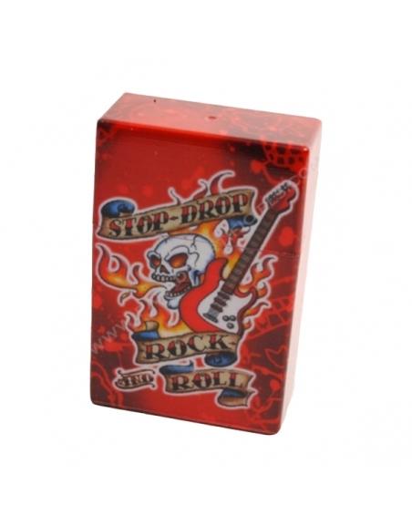 Boîte cigarettes tatoo guitare