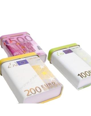 Boîte cigarette euros