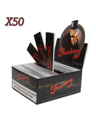 Feuille à rouler slim Smoking Deluxe par boite