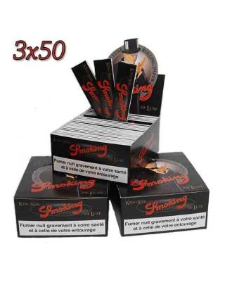 Feuille Smoking Deluxe slim par 3 boites