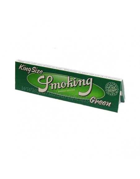 Feuille à rouler slim Smoking Green