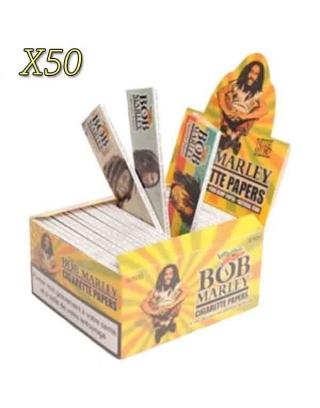 Feuille à rouler slim Bob Marley par boite