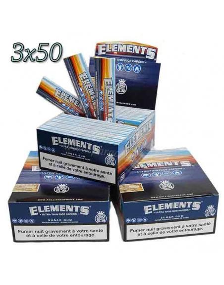Feuille Element slim par 3 boites