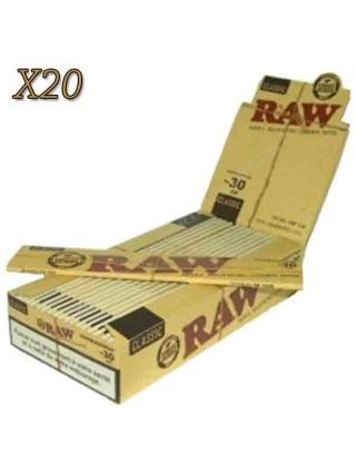 Feuille Raw 30cm par boite