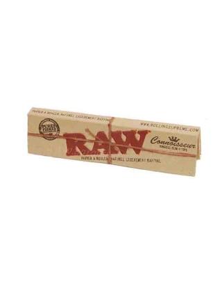 Feuille à rouler slim Raw 2 en 1