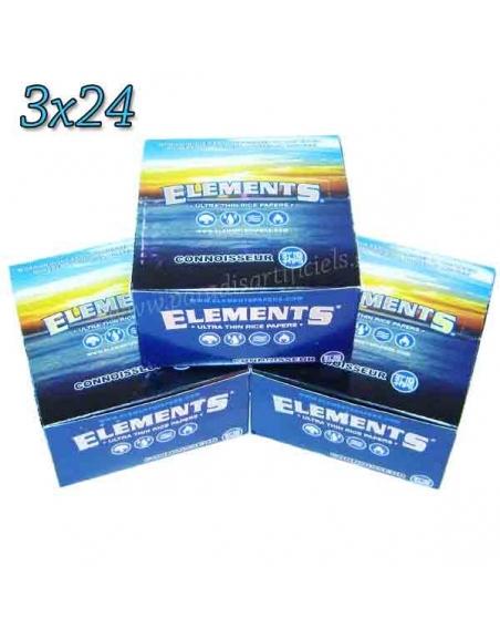 Feuille Element 2 en 1 slim par 3 boites