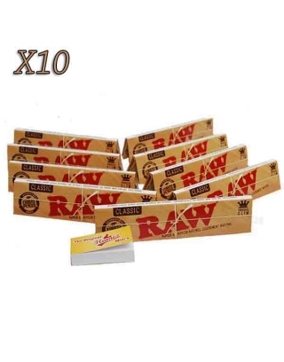 Feuille à rouler slim raw par lot