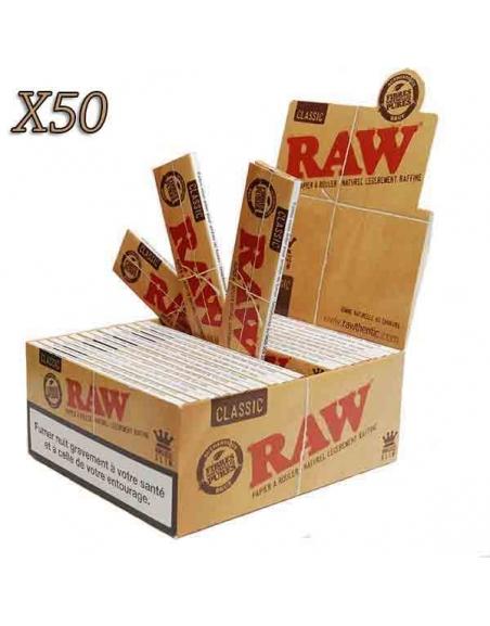 Feuille à rouler slim Raw par boite