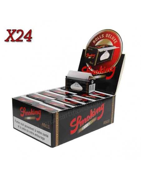 Feuille à rouler rolls Smoking Deluxe par boite