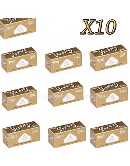 Rouleau feuille Smoking Gold par 10