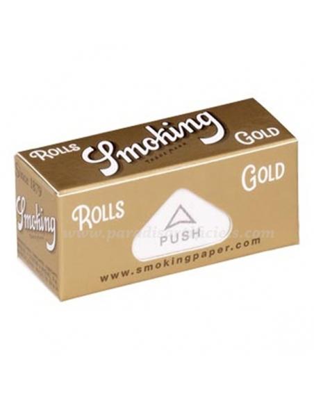 Rouleau feuille Smoking Gold par boite