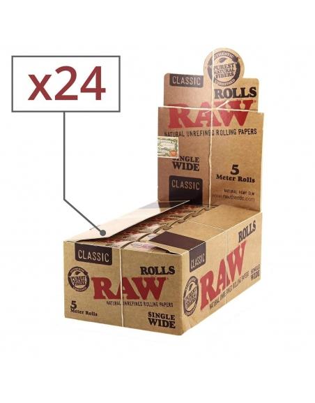 Rouleau de feuille Raw par boite