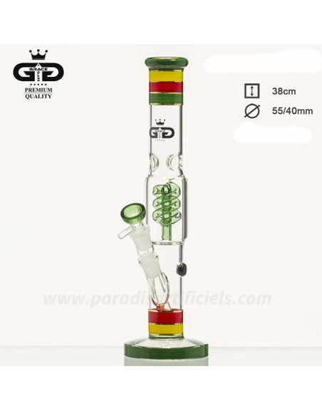 Bang Ice Grace Glass Percolateur rasta 38cm