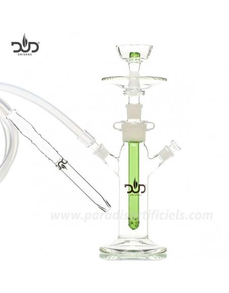 Chicha en verre Dud 40cm green