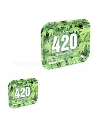 Plateau 420 en métal