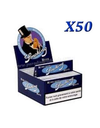 Feuille Smoking Blue slim par boite