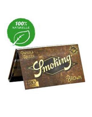 Feuille courte Smoking brown